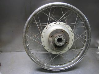 Honda 18 Rear Wheel Rim 42701 404 771 CB450 CL450 CB500T CB550K 1968