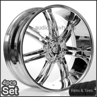 24 inch Wheels and Tires for Land Range Rover FX35 Rims