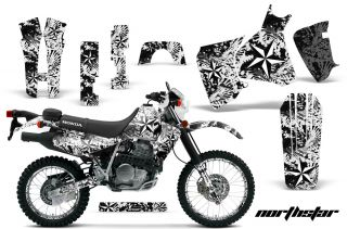 AMR Racing Graphic Kit Number Plate Background Honda XR650L XR650 Part