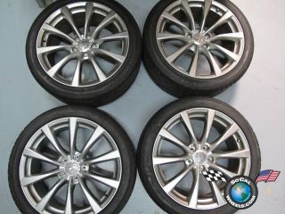 11 Infiniti G37 Coupe Factory 19 Wheels Tires Rims 73735 73736
