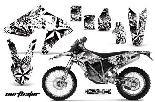 AMR Graphic Kit 450 BMW G450X Number Plate Backgrounds