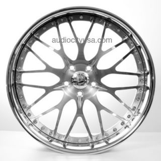 22 Custom Forged 3pc Wheels Rims for BMW Mercedes Camaro Audi Lexus