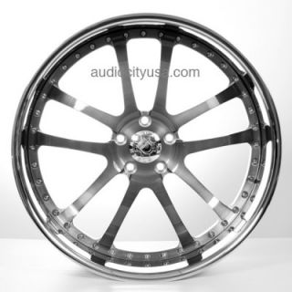 22inch Custom Forged 3Pc Wheels Rims, For BMW Mercedes,Camaro,Audi
