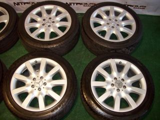 18 Mercedes Wheels Tires s CL Class S500 S550 CL500 S430 CL550 CL600