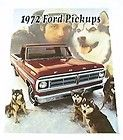 1978 78 Ford ECONOLINE Van BROCHURE E100 E250 E350 items in Car and