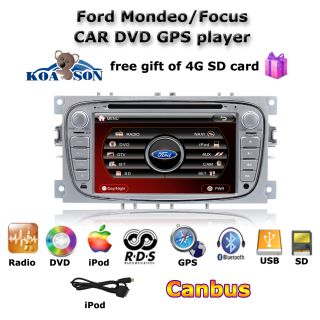 koason Ford Focus mondeo S Max car DVD player Autoradio GPS Navigation