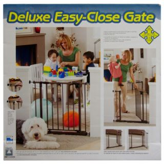 North States Deluxe Easy Close Pet Gate   Tension Mounted Gates   Gates