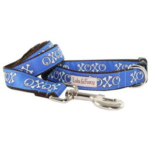 Lola & Foxy Nylon Dog Leashes   Blue Hugs   Leashes Nylon   Collars, Harnesses & Leashes