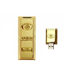 Usb Flash Drive Gold Bar 16 gb Computer & Zubehör