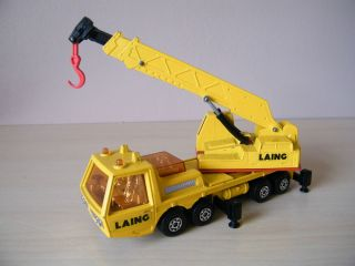 1974 Matchbox Lesney Hercules mobile crane K 12 K 113 toy
