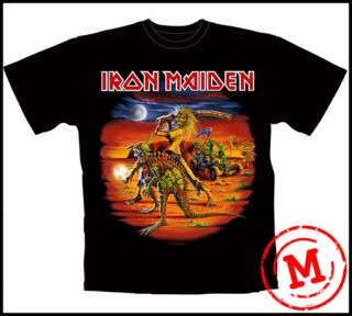 IRON MAIDEN   2011 AUSTRALIA TOUR T SHIRT   MEDIUM