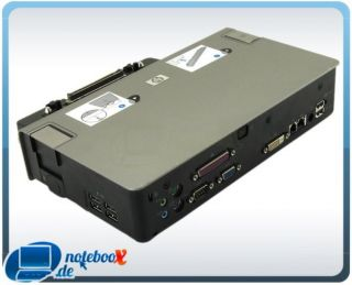 HP Docking Station Dock KP081AA HSTNN I08X USB DVI VGA Alu 8710p 8530w