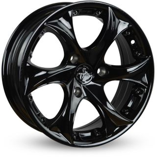15 KESKIN KT9 SMART Black Painted Felgen Smart ForTwo 451