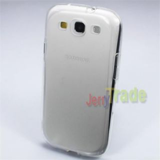 Transparent Clear Soft TPU Rubber Shell Cover Case for Samsung Galaxy