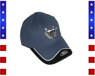 Ford Mustang 45th Anniversary Cap blue