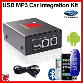 Grom USB & Android Integration kit for Subaru, FORESTER IMPREZA LEGACY