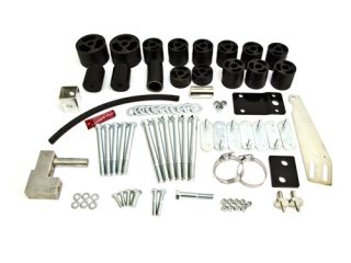 Body Lift Kit Höherlegung +76mm Jeep Wrangler TJ Rubicon ohne TÜV
