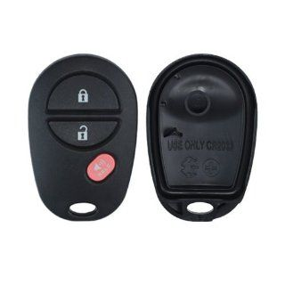 2007 2012 Toyota Tundra Keyless Entry Remote Replacement Case and Pad