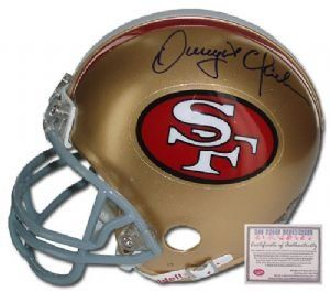 Dwight Clark San Francisco 49ers NFL Hand Signed Mini