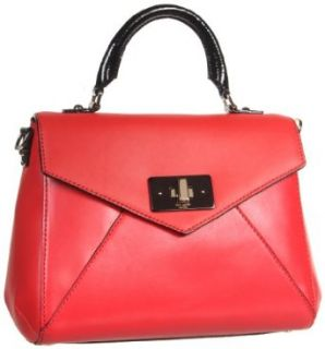 Kate Spade New York Post Street Little Nadine Satchel,Red