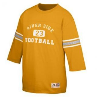 OLD SCHOOL FOOTBALL JERSEY   GOLD   3XL Clothing
