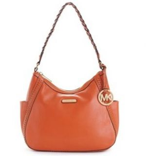 Michael Kors Whipped Medium Top Zip Shoulder Hobo Bag