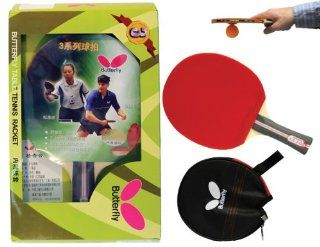 Butterfly 302 Shakehand Table Tennis Racket Sports