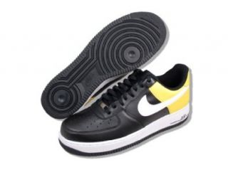 Nike Air Force 1 07 Mens Size 15 Black/white/yellow Shoes