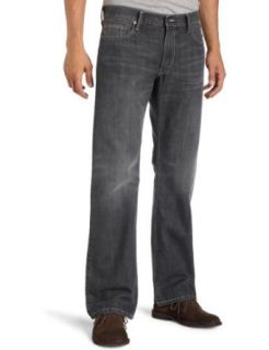 Levis Mens 527 Low Rise Boot Cut Jean, Smoked Grey, 33X34