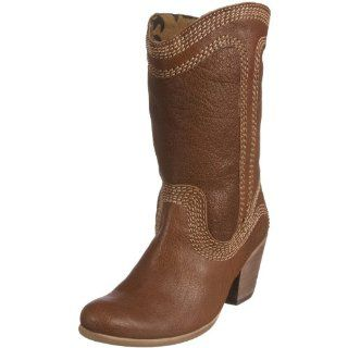 FLY London Womens Leah Boot,Brown Leather,35 EU / 4 B(M) US Shoes
