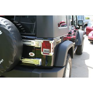 Tail Light Covers for 2007 2009 Jeep Wrangler
