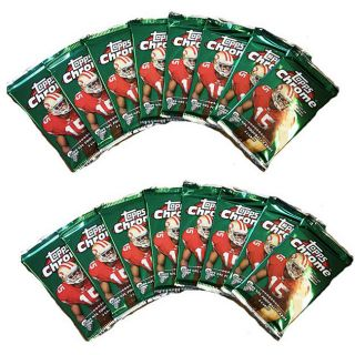 NFL 2009 Topps Chrome Trading Card Packs (Box of 16 Packs)