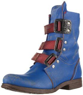 FLY London Womens Stif Boot,Blue,38 EU/7   7.5 M US Shoes