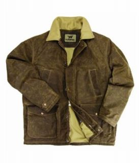 Irish Setter Mens Ramsey Jacket, Brown Canvas, XX Large