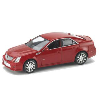 Cadillac CTS V Crystal Red 2010 Diecast Scale Model Car