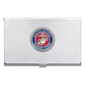 United States Marine Corps Business Card Case Sports