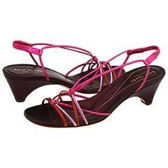 Kate Spade Carmen Pink Multi Metallic Sandals