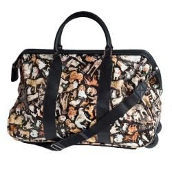 Sydney Love Cats and Dogs 18 inch Carry On Rolling Duffel Bag