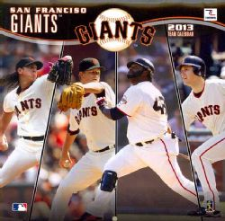 San Francisco Giants Mlb 2013 Calendar (Calendar)