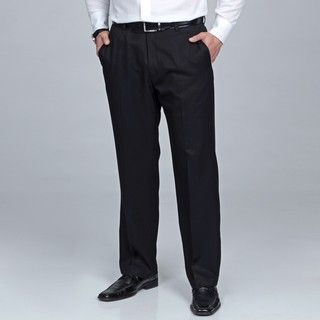 Kenneth Cole Reaction Mens Black Pants