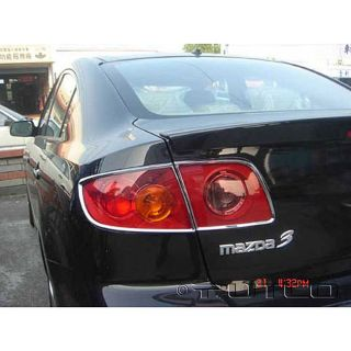 Tail Light Covers for 2005 2009 Mazda 3