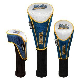 NCAA UCLA Bruins Nylon Headcover (set of 3) Driver