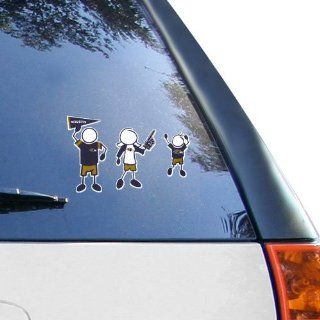Baltimore Ravens 12 x 12 Family Car Decal Sheet