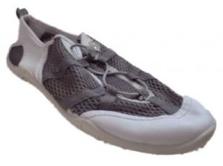 White & Gray Water Shoes Aqua Socks Large 9 10 Beach Shoes Shoes