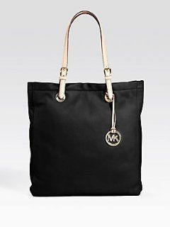 MICHAEL Michael Kors Item Leather Tote Handbags   Black Shoes