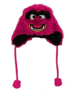 The Muppets Animal Cartoon Adult Fuzzy Pilot Laplander Hat