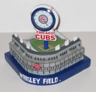 Chicago Cubs MLB Wrigley Field Stadium Replica Desk Clock