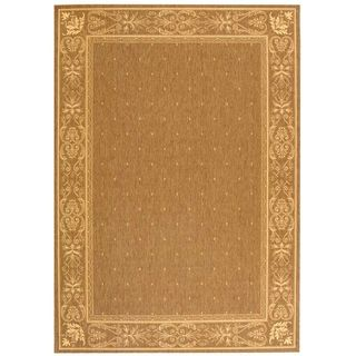 Safavieh Courtyard Brown/ Natural Indoor Outdoor Rug