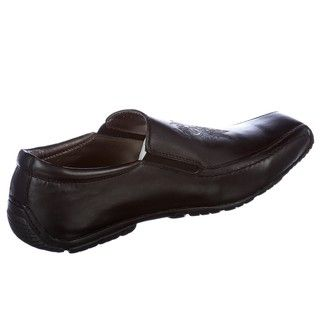 Skechers Backstage Mens Litigate Black Leather Loafers