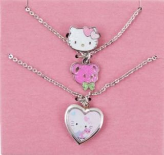 Hello Kitty Bear Kids Jewelry Set   Comes with Necklace